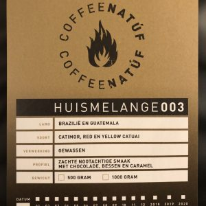 Coffee Natúf – Midden- en Zuid-Amerika Melange