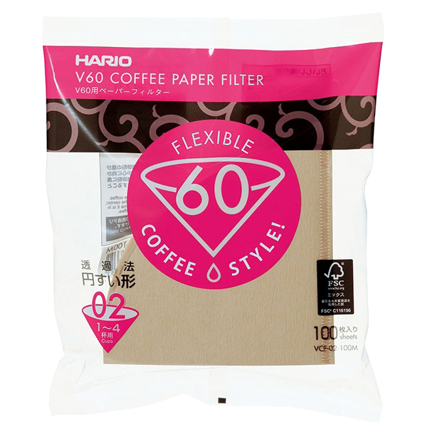 Hario V60 filters naturel