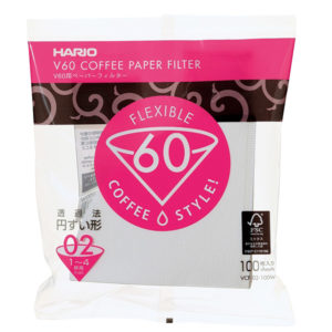 Hario V60 filters wit