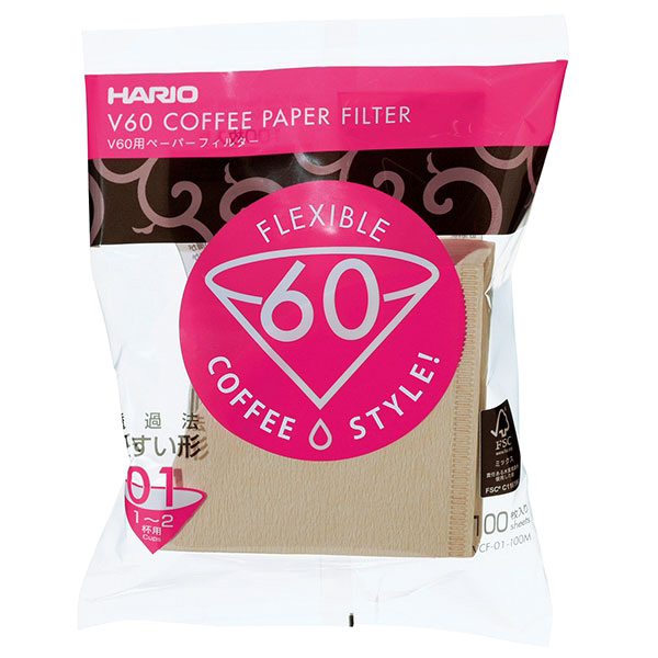 Hario V60 Filters - Naturel