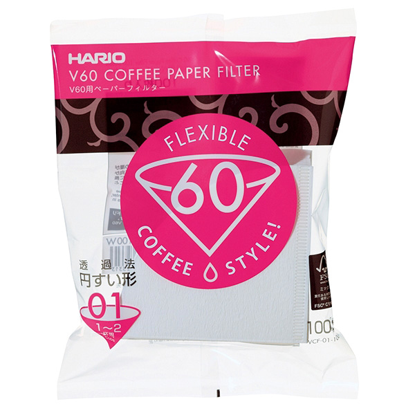 Hario V60 Filters - Wit