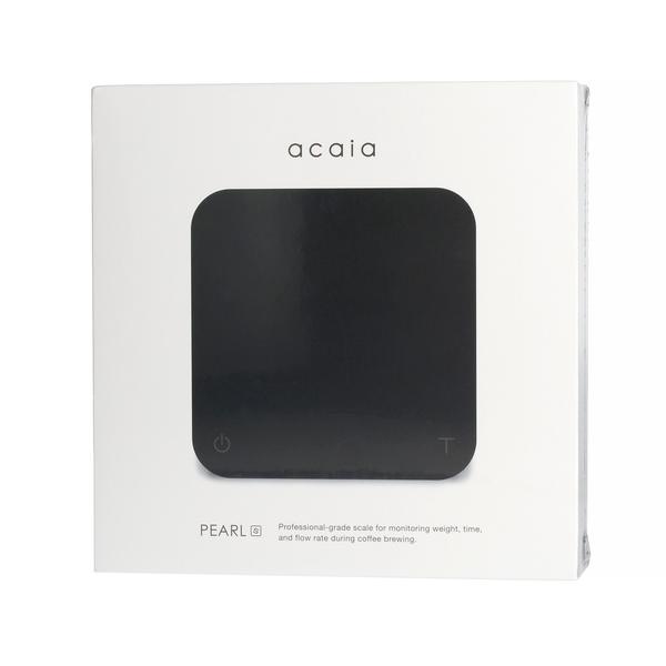 Acaia Pearl S Weegschaal - Zwart