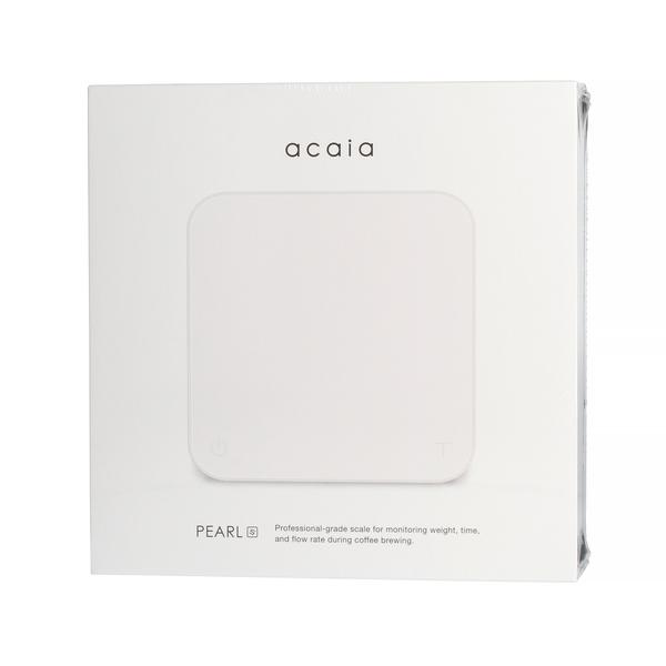 Acaia Pearl S Weegschaal - Wit