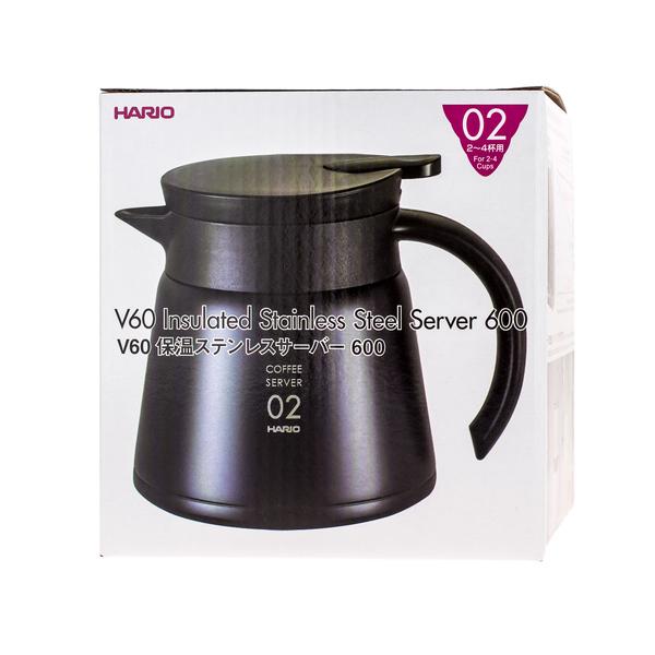 Hario V60 Thermoskan RVS - 600ml
